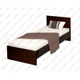 Кровать Эконом венге  0.9 м