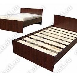 Кровать Эконом венге 1.6 м
