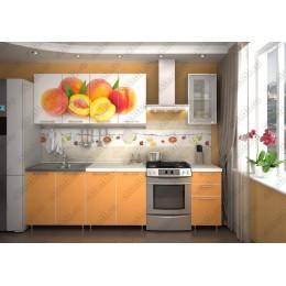 Кухня Персик - оранж 2,0 м