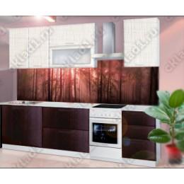 "Кухня ""Яна"" 2,0 м МДФ (Каньонмист/Браун)"